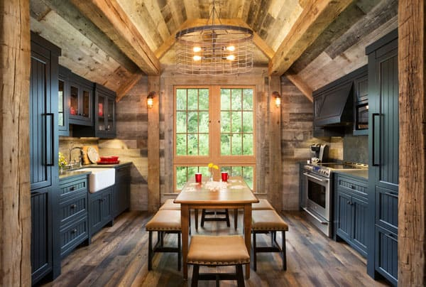 Rustic Kitchens in Mountain Homes-51-1 Kindesign