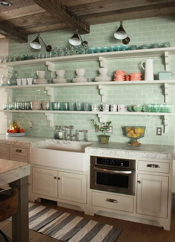 Subway Tile Kitchen Ideas-09-1 Kindesign