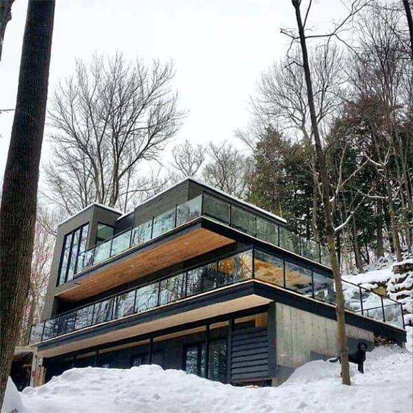 Chalet Lac Champlain-Atelier BOOM TOWN-39-1 Kindesign