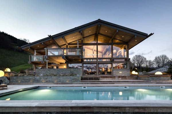 featured posts image for Luxury mountain retreat in the French Alps: Chalet Mont Blanc