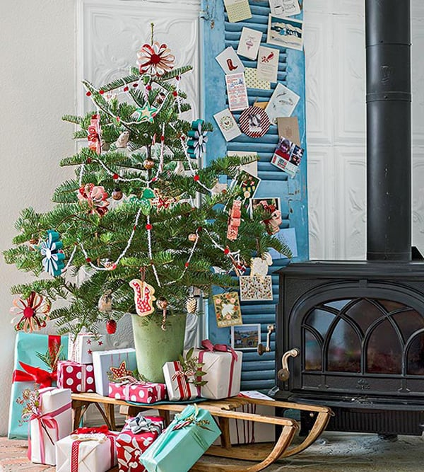 Christmas Decorating Ideas for Small Spaces-10-1 Kindesign