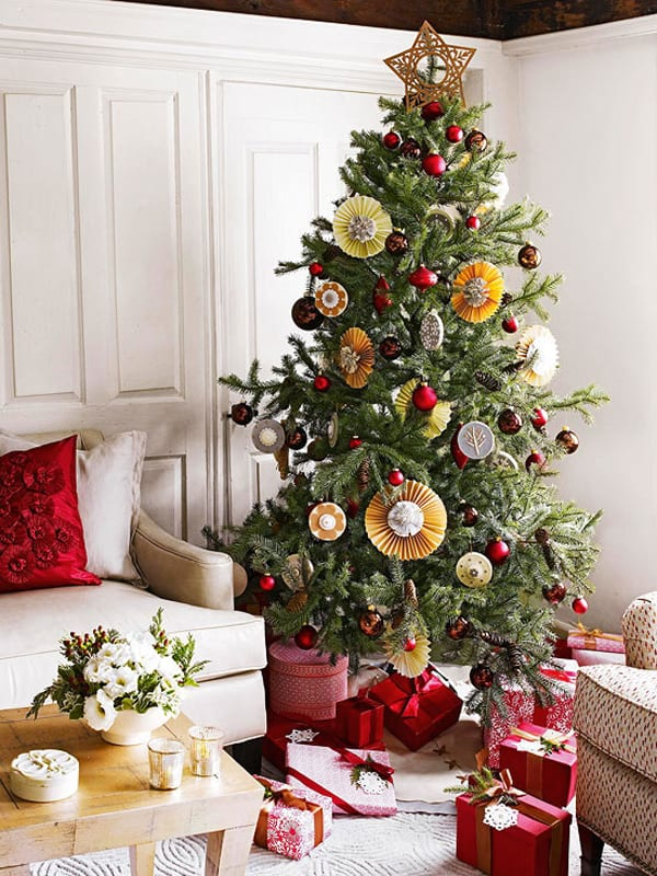 Holiday Decorating Ideas For Small Spaces Part - 49: Christmas Decorating Ideas For Small Spaces-13-1 Kindesign