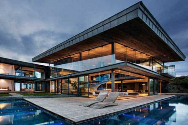 featured posts image for Double volume cliff-top estate in South Africa: Cove 3 House