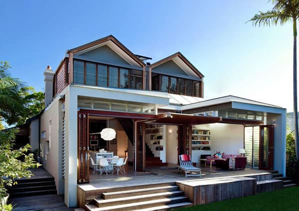 featured posts image for Stunning contemporary extension project in Australia: Mosman House