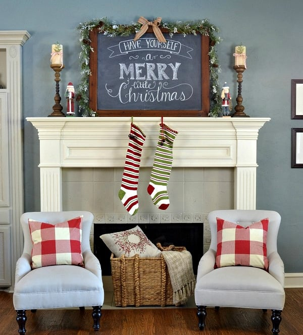 Rustic Holiday Decorating Ideas Part - 42: Rustic Christmas Decorating Ideas-01-1 Kindesign