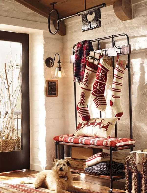rustic christmas decorating ideas 02 1 kindesign
