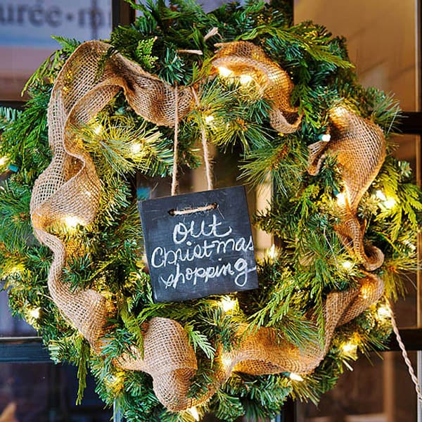 Rustic Christmas Decorating Ideas-04-1 Kindesign