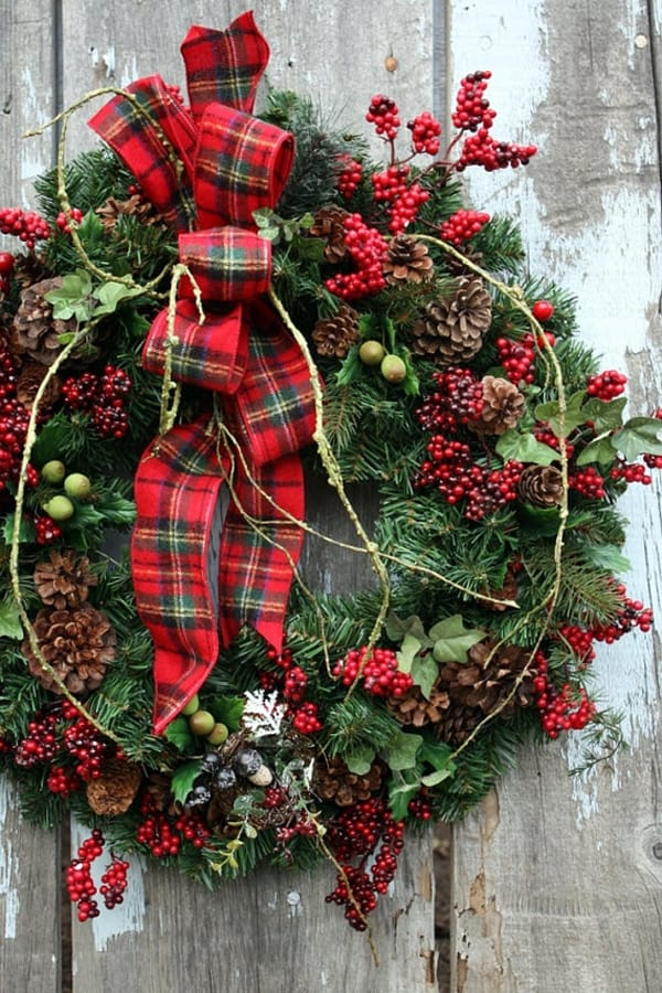 Rustic Christmas Decorating Ideas-06-1 Kindesign