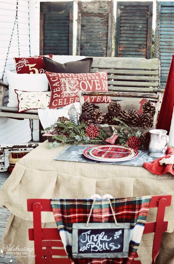 Rustic Christmas Decorating Ideas-08-1 Kindesign