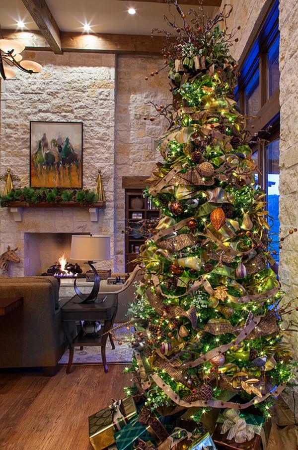 Rustic Christmas Decorating Ideas-12-1 Kindesign