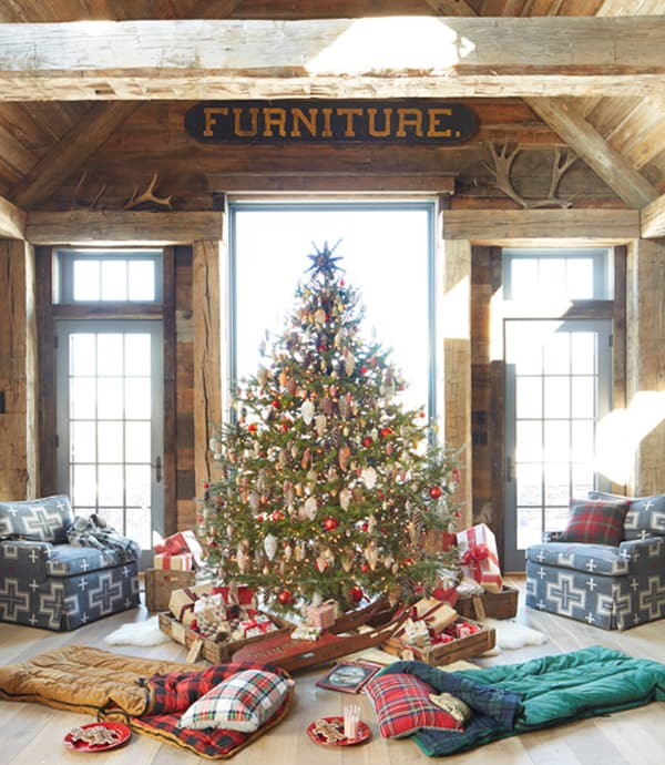 Rustic Christmas Decorating Ideas-13-1 Kindesign