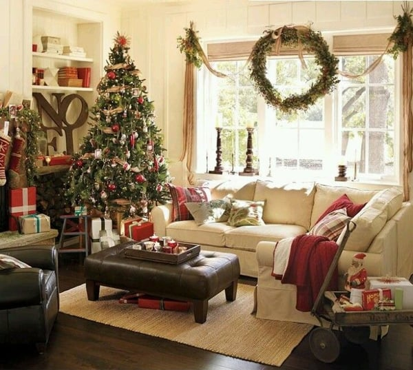 Rustic Christmas Decorating Ideas-14-1 Kindesign