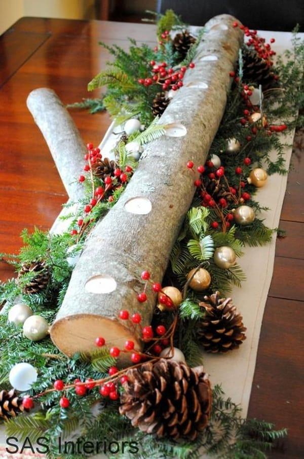Rustic Christmas Decorating Ideas-25-1 Kindesign