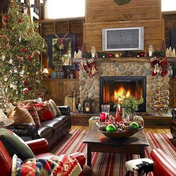 Rustic Christmas Decorating Ideas-26-1 Kindesign