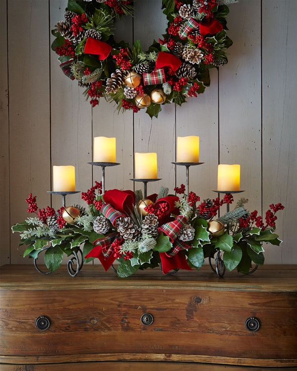 Rustic Christmas Decorating Ideas-27-1 Kindesign