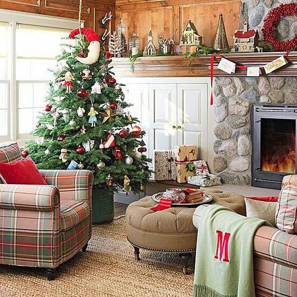 rustic christmas decorating ideas 29 1 kindesign