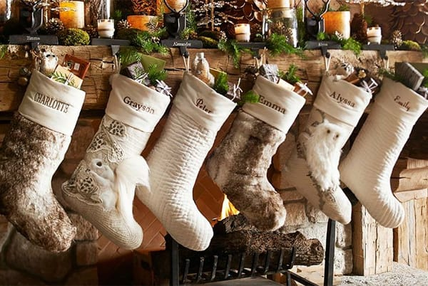 rustic christmas decorating ideas 33 1 kindesign - Rustic Christmas Stocking