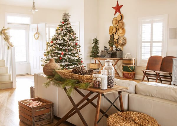 rustic christmas decorating ideas 34 1 kindesign