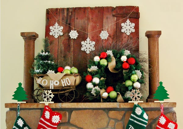 Rustic Christmas Decorating Ideas-36-1 Kindesign