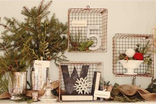 Rustic Christmas Decorating Ideas-39-1 Kindesign