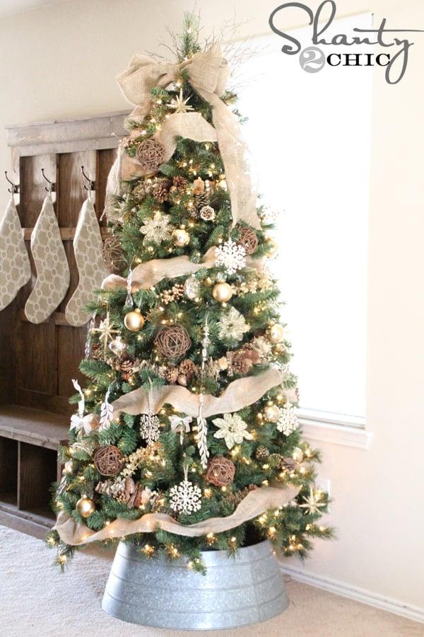 Rustic Christmas Decorating Ideas-42-1 Kindesign