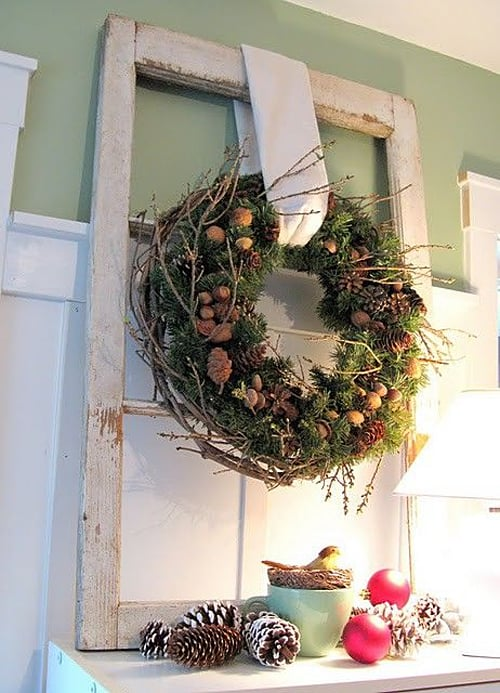 Rustic Christmas Decorating Ideas-46-1 Kindesign