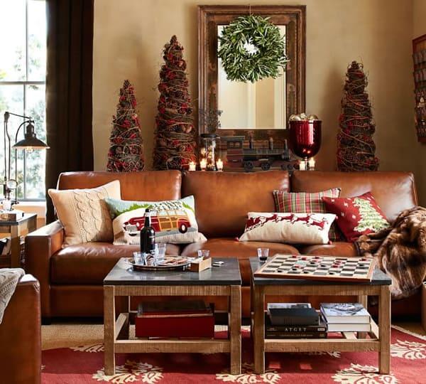 Rustic Christmas Decorating Ideas-49-1 Kindesign
