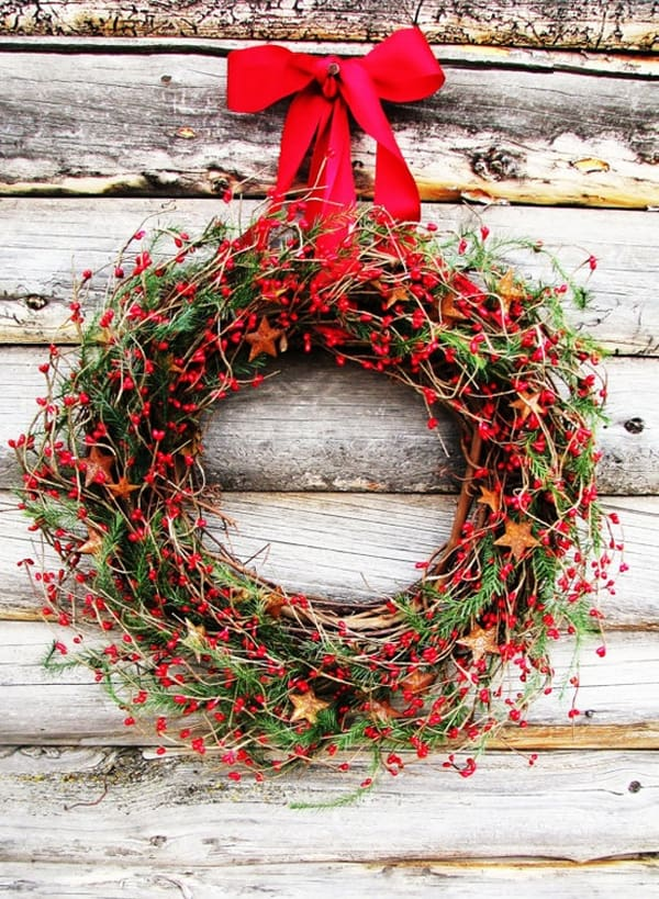 Rustic Christmas Decorating Ideas-55-1 Kindesign