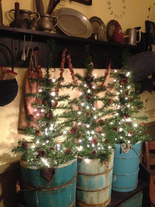 Rustic Christmas Decorating Ideas-65-1 Kindesign