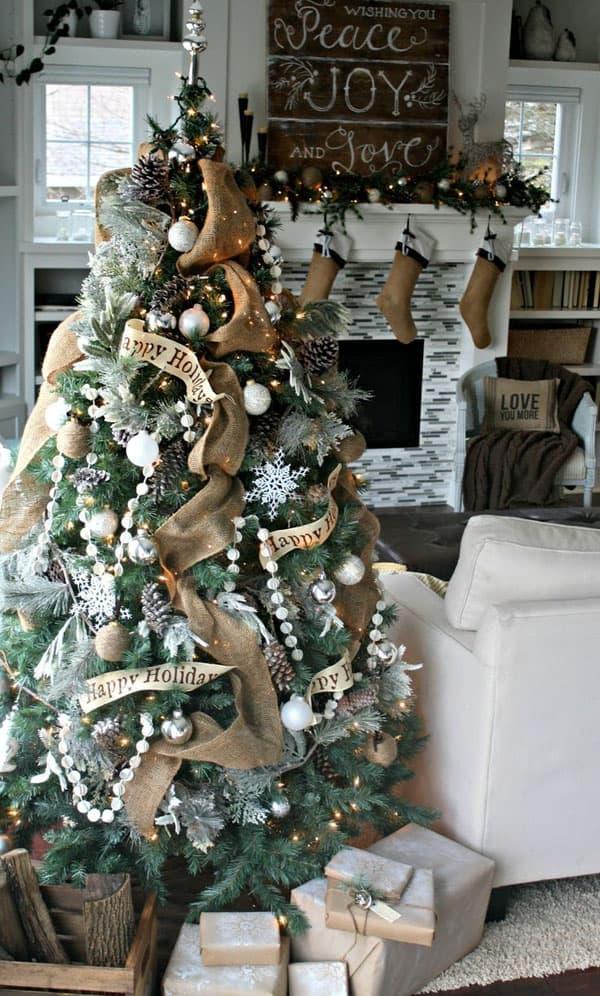 Rustic Christmas Decorating Ideas-66-1 Kindesign