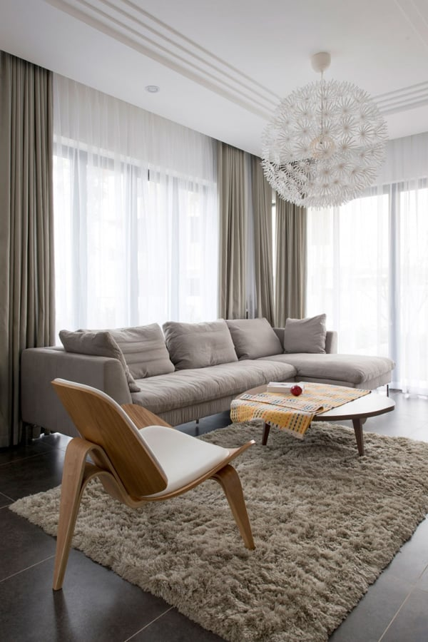 featured posts image for Semi detached house in Vietnam showcasing warm interior design