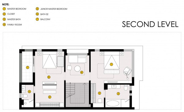 Semi Detached House-Landmak Architecture-18-1 Kindesign
