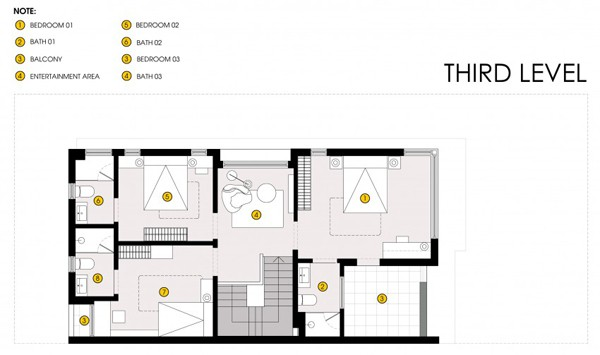 Semi Detached House-Landmak Architecture-19-1 Kindesign