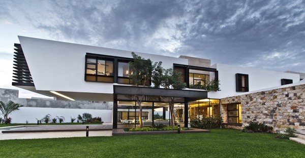 Temozon House-Carrillo Arquitectos y Asociados-01-1 Kindesign