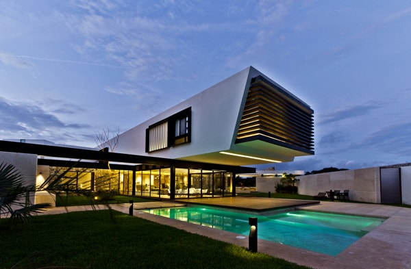 Temozon House-Carrillo Arquitectos y Asociados-19-1 Kindesign