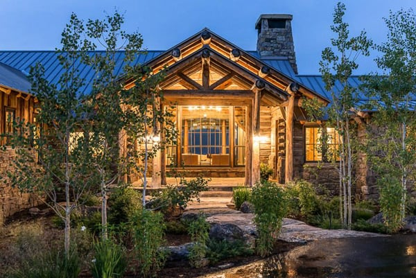 featured posts image for Breathtaking rustic mountain home in Big Sky: Ansel Haus