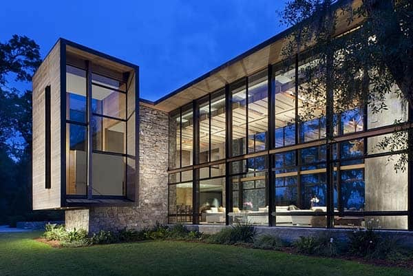 featured posts image for Striking modern dwelling in South Carolina: Bray's Island I