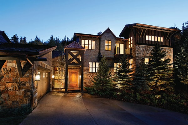 featured posts image for Picturesque mountain contemporary luxury villa in Aspen