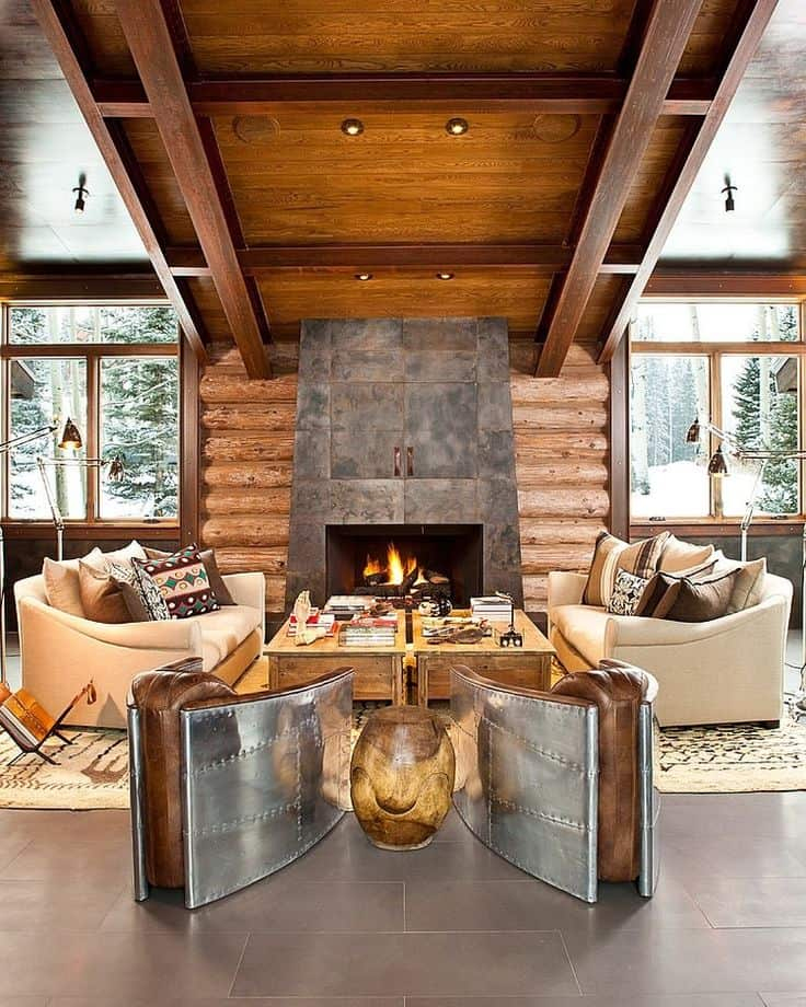 Fireplaces in Warm-Cozy Living Spaces-02-1 Kindesign