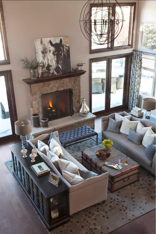 Fireplaces in Warm-Cozy Living Spaces-03-1 Kindesign