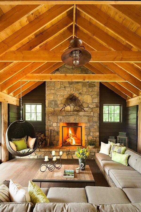 Fireplaces in Warm-Cozy Living Spaces-08-1 Kindesign