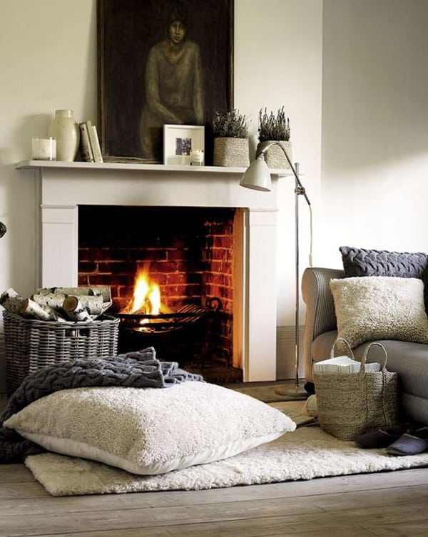 Fireplaces in Warm-Cozy Living Spaces-20-1 Kindesign