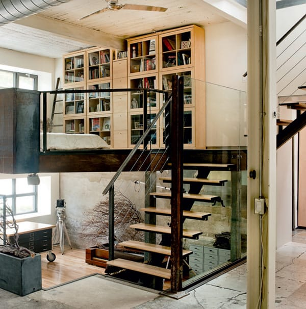 featured posts image for Amazing industrial style warehouse conversion in Montreal