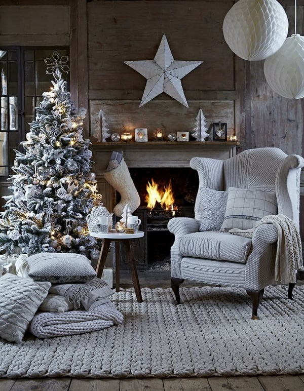 featured posts image for 70 Amazing Nordic-inspired Christmas decor ideas
