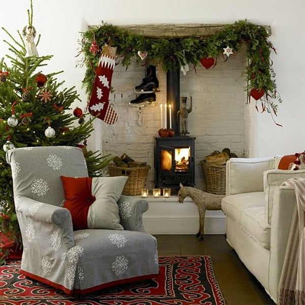 Nordic Christmas Decorating-18-1 Kindesign