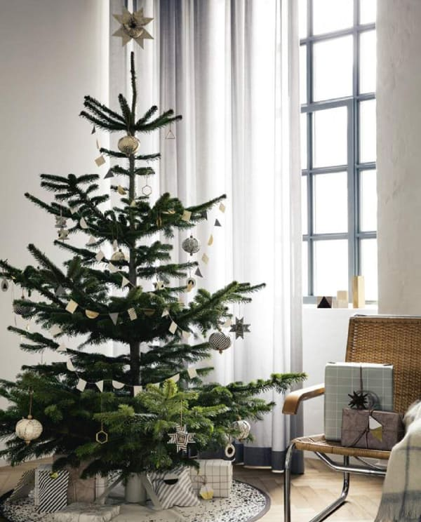 Nordic Christmas Decorating-25-1 Kindesign