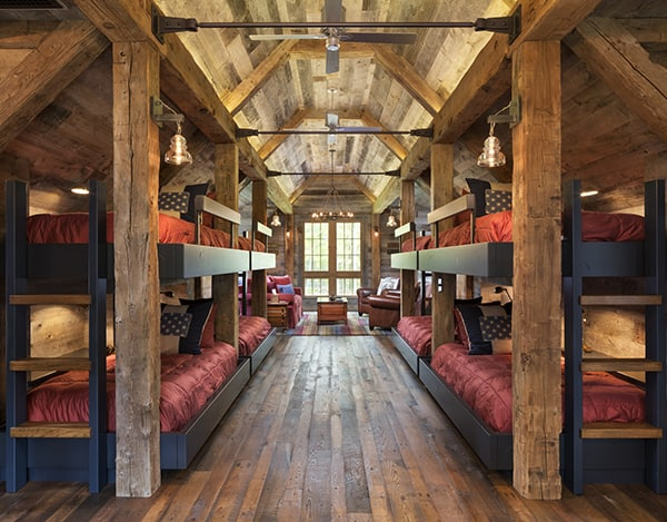Northern Wisconsin Bunk House-John Kraemer Sons-05-1 Kindesign
