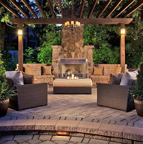 featured posts image for 53 Most amazing outdoor fireplace designs ever