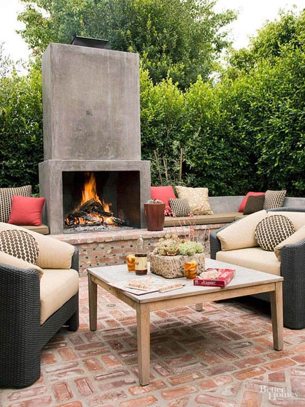 Outdoor Fireplace Designs 03 1 Kindesign