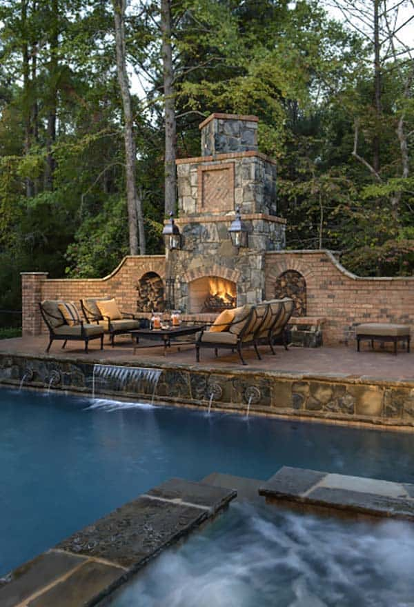 Outdoor Fireplace Designs-04-1 Kindesign